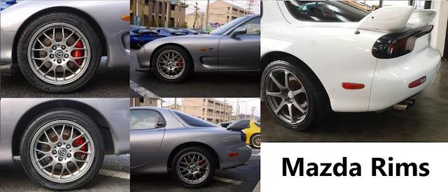 The Mazda Rims and Wheels