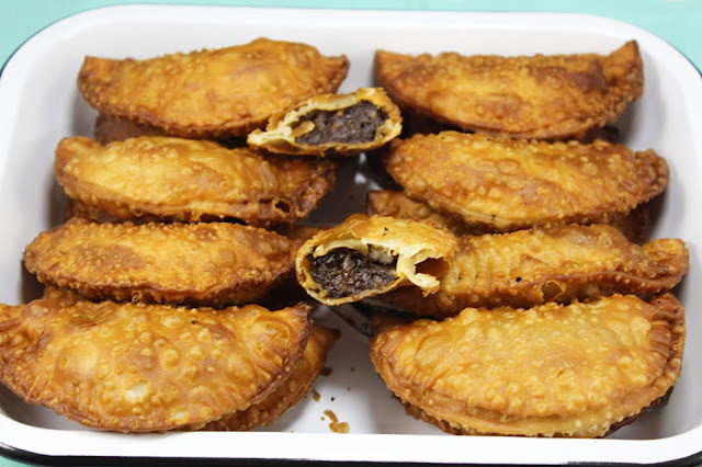 Empanadillas de morcilla Thermomix