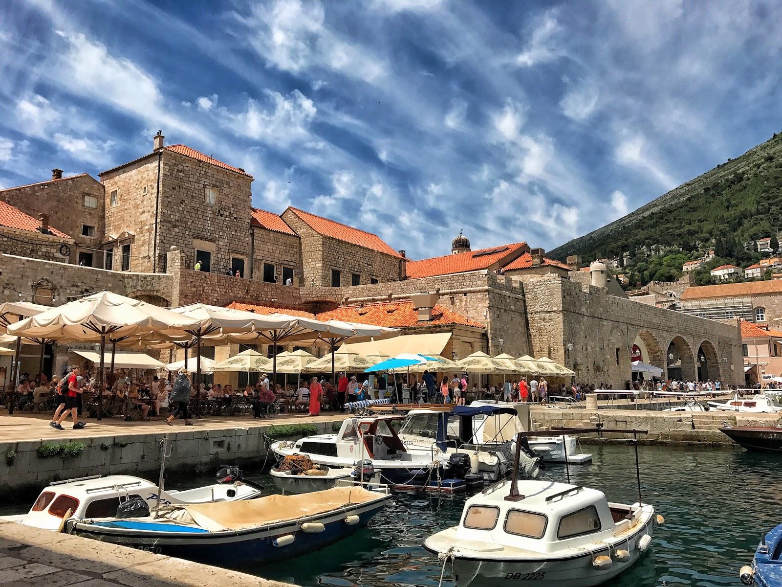 Dubrovnik harbour old city of Kingslanding
