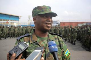 Lt Col Innocent Munyengango