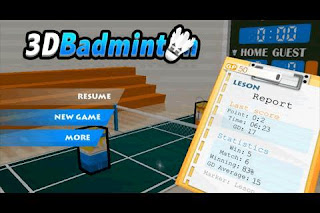 3D Badminton Android Games Free Download