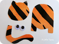 tiger puppet template - story time with the library lady not a flannel friday at