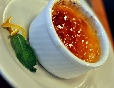 Blood Orange Creme Brulee at Rodizio Grill in Allentown, PA - Photo by Taste As You Go