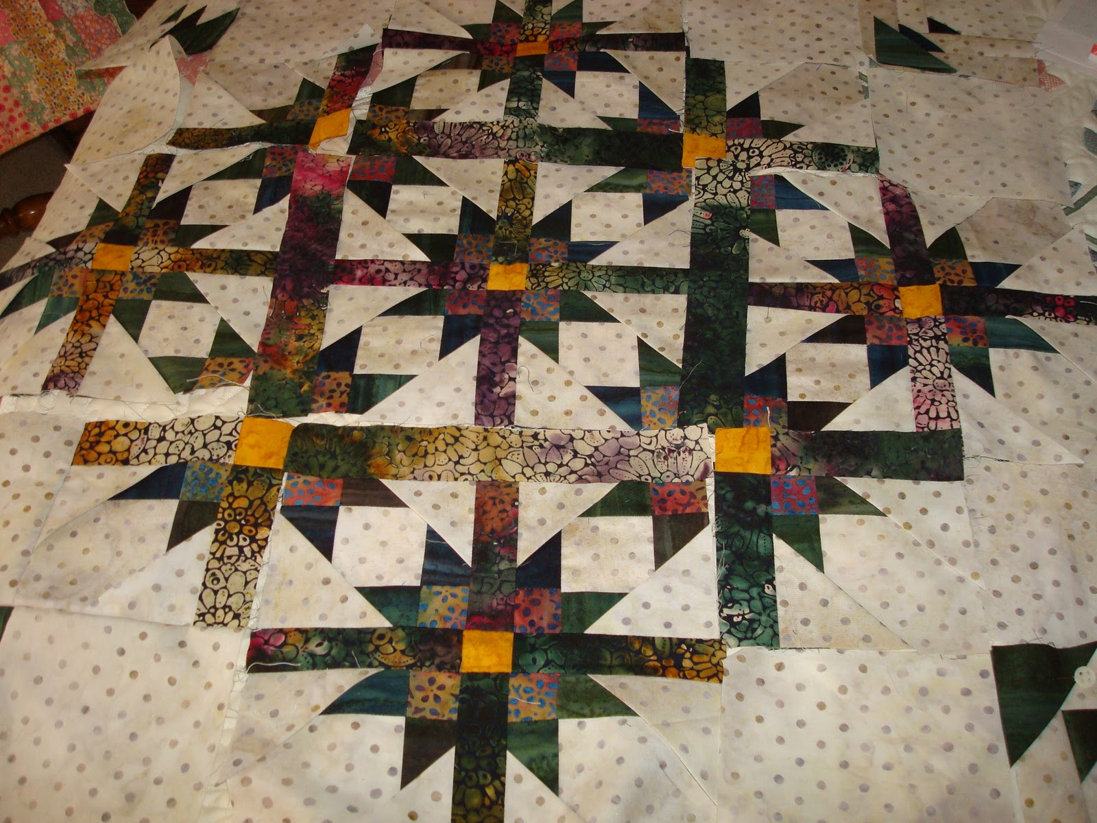 Mexican American Quilts: Unfettered Color and Pattern