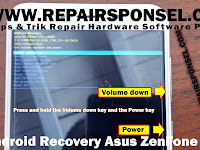 Cara Masuk Recovery Asus ZenFone 3 Max X00DD (ZC553KL)