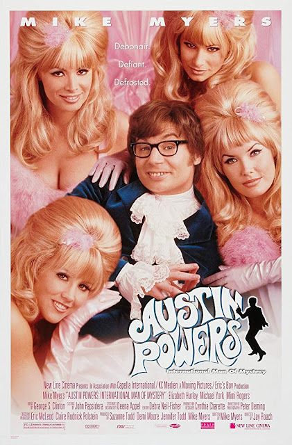 Austin Powers: International Man of Mystery 1997 movie poster