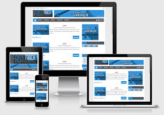fast track blogger template responsive Premium Free