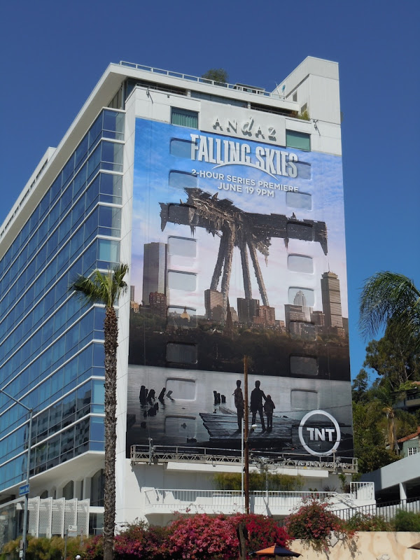 Falling Skies TV billboard