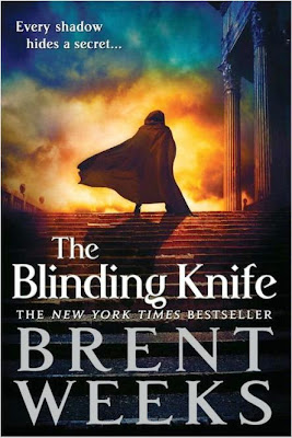 The Blinding Knife by Brent Weeks - book cover