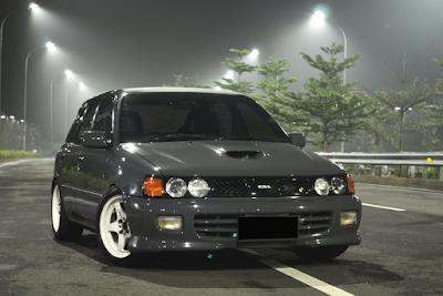 Toyota Starlet EP82 Modifikasi