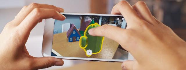 Google chính thức ra mắt bộ công cụ ARCore dành cho Android 7