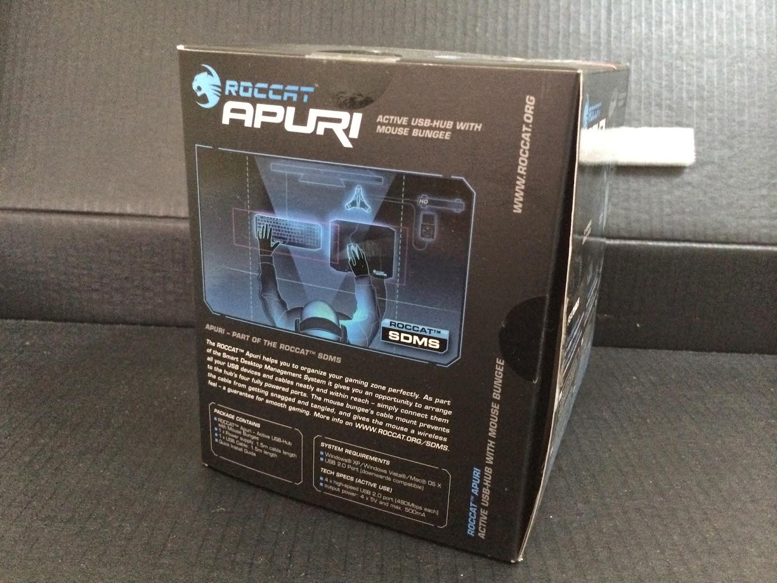 Unboxing & Review: ROCCAT Apuri 37