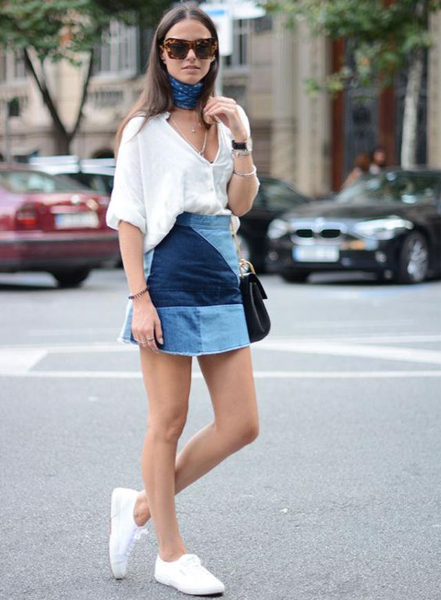saia jeans, tendência verão 2018, como usar saia jeans, blog camila andrade, blog de dicas de moda, blogueira de moda em ribeirão preto, fashion blogger em ribeirão preto, blog de dicas de moda