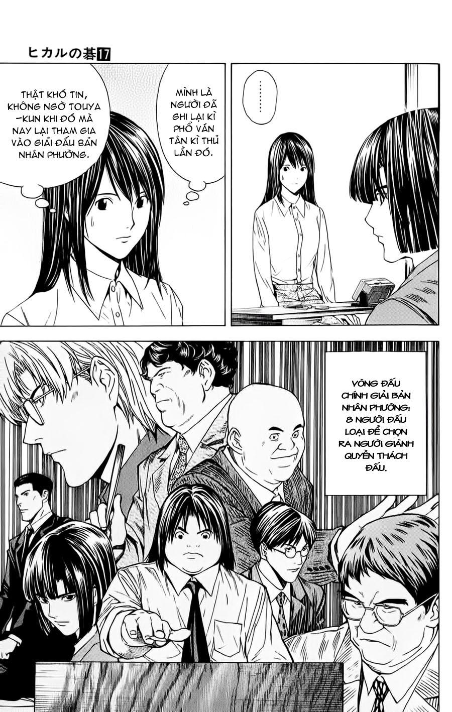 Hikaru No Go hikaru no go chap 143 trang 12