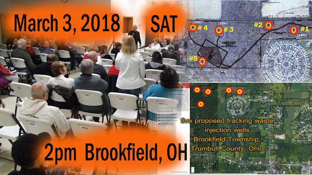 Brookfield Citizens Against Injection Wells (BCAIW) residents and their allies to hold community meeting