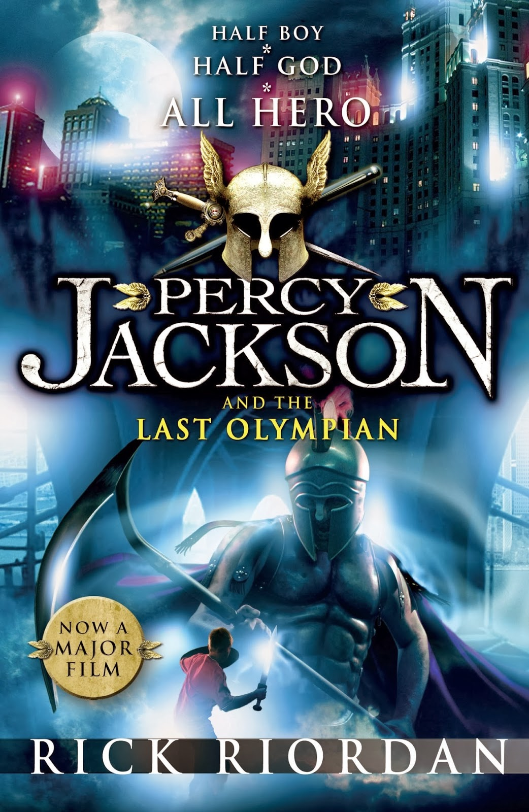Reading like Breathing: Percy Jackson and the Last ...