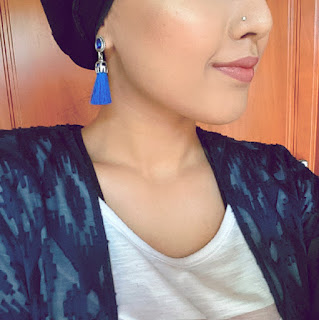 makeup, makeup tutorial, greece, tassel earrings, hijabi, turban hijab, hijabi blogger, makeup blogger, makeup blog, step by step tutorial, eyeshadow tutorial, smokey blue eye, smokey blue eye tutorial, tutorial, silver eye tutorial, blue and silver eye tutorial, pink lips, anastasia beverly hills, urban decay, the body shop, mikyajy, red cherry lashes, nars cosmetics, morphe cosmetics, indigo, indigo makeup, indigo eye makeup, urban decay naked tutorial, urban decay naked palette, urban decay smoky palette, urban decay smoky tutorial