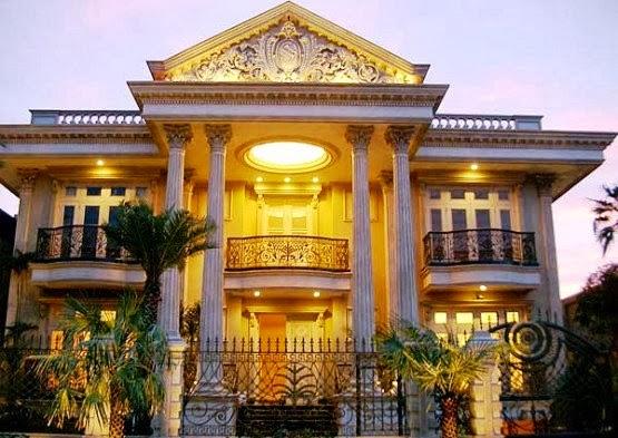 Desain Rumah Mewah Gaya Mediterania