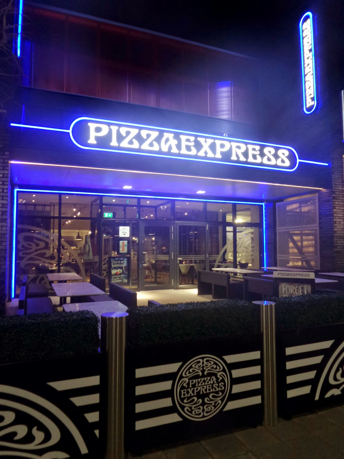 Pizza Express at The MK dons Stadium