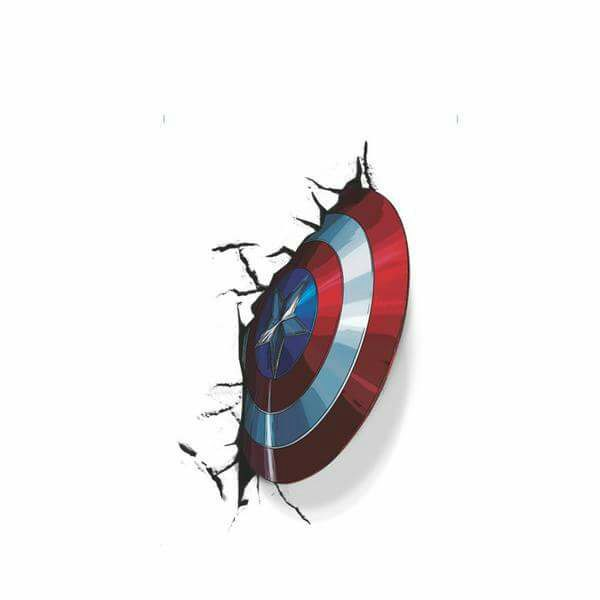 Por que o escudo do Capitão America Quica?