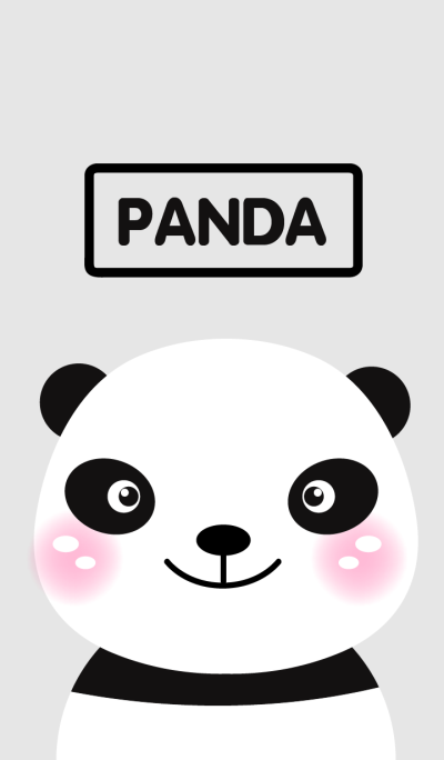 Cute Panda theme Vr.1