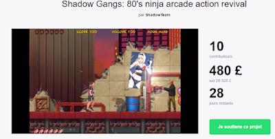 Shadows Gangs, les différentes news Gg