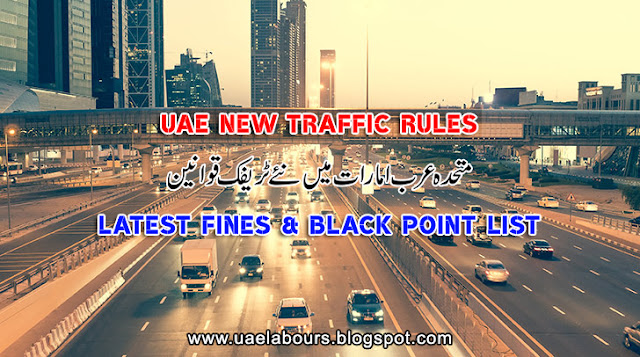 UAE Traffic Rules, UAE Traffic Fines, UAE Traffic Law, Dubai Traffic Fines, Abu Dhabi Traffic Fines
