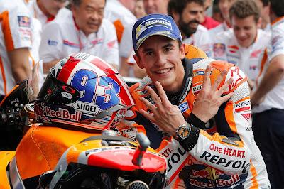 2η συνεχόμενη νίκη του Marquez στο MotoGP της Αμερικής
