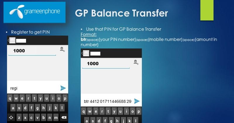 Balance Transfer GP