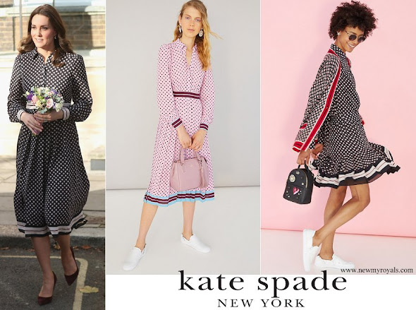 Kate Middleton wore Kate Spade dress from Resort 2018 collection