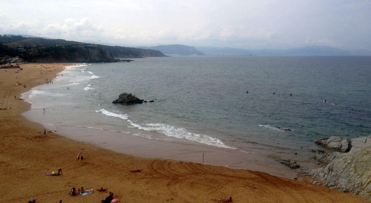 sin olas en sopela finales agosto