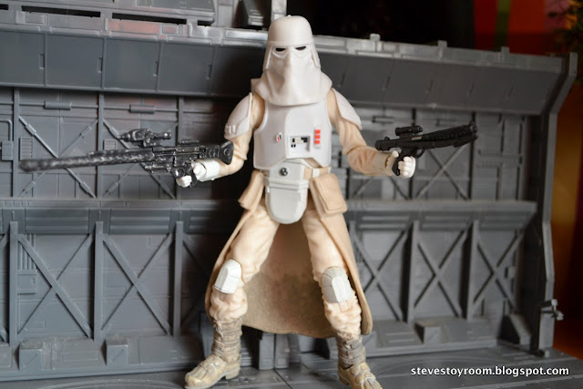 "Snowtrooper Empire Strikes Back 6"" Black Series Blaster"