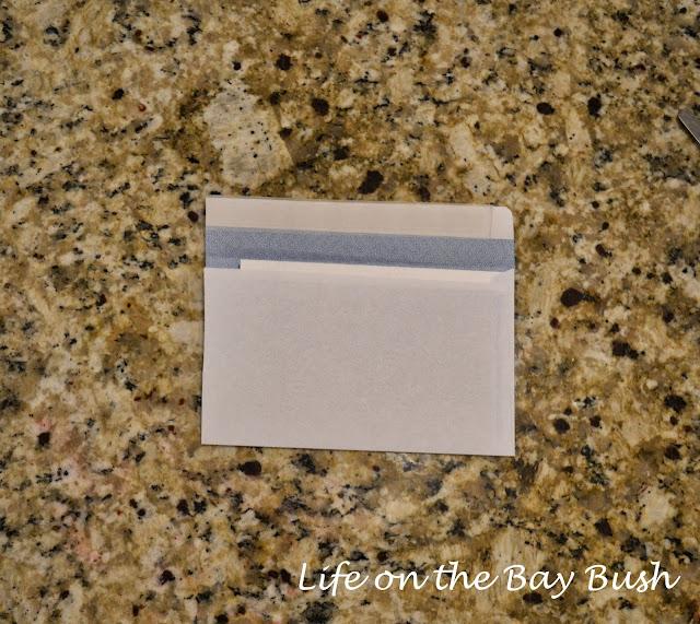 Easy way to DIY 4x6 envelopes