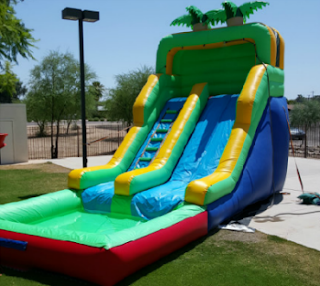 affordable water slide rentals