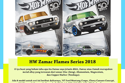 Hot Wheels ZAMAC Flames Series 2018