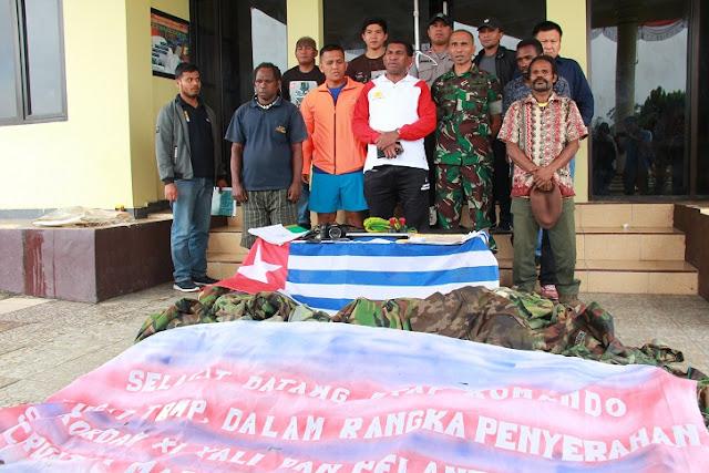Aparat gabungan gagalkan pelantikan Panglima TRWP di Yalimo