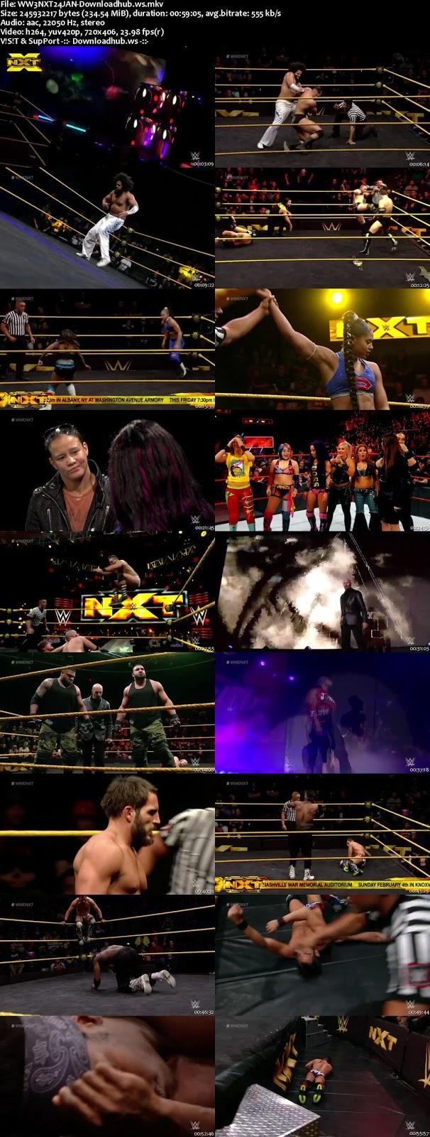 WWE NXT 24 January 2018 480p HDTV
