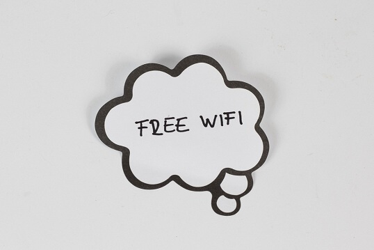 Find places with free wifi near me