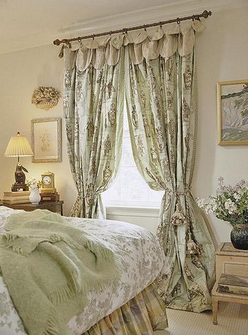New Bedroom Window Treatments Ideas 2012 Traditional