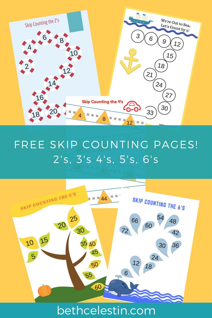 Love Beth Free Skip Counting Printables