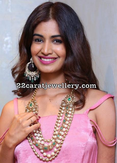Susruthi Krishna Kundan Long Chain Diamond Waistbelt