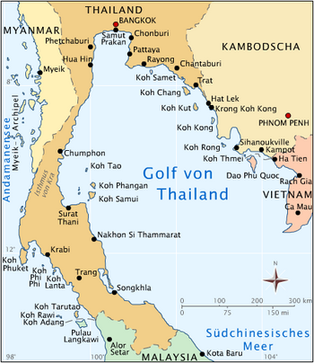Bangkok Karte.Thailand Bereisen Gut Informiert Koh Samet Strände Und Sehenswertes