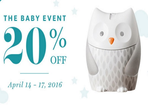 Chapters Indigo Baby Event 20% Off