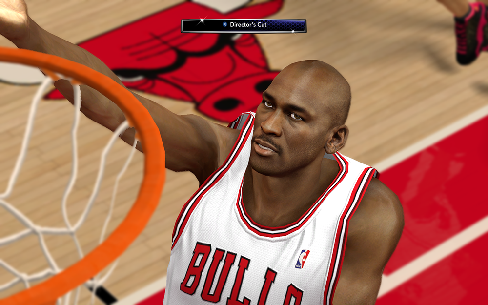 Bulls MJ HD Face