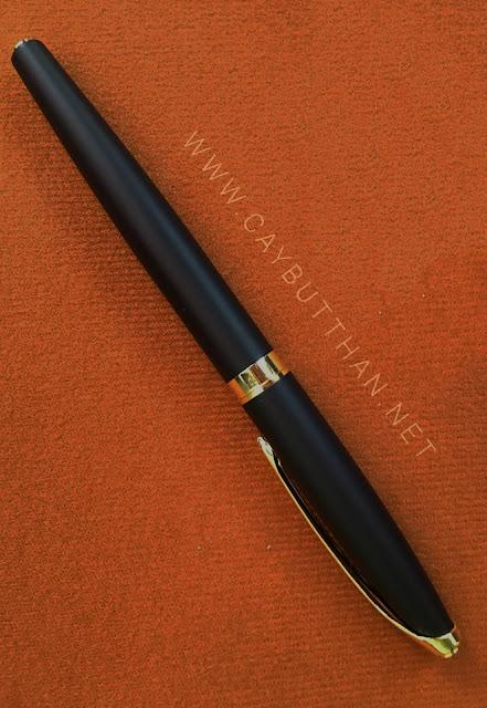 Bút kim loại quà tặng đen nhám
