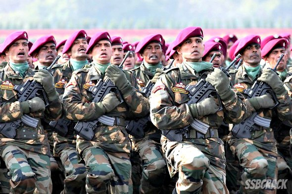 Parachute Regiment, Paratroopers of Indian Army