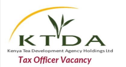Tax officer vacancies 2018 KTDA