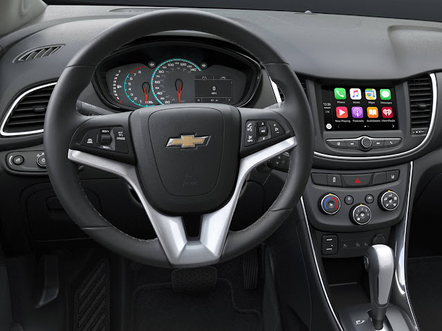 Novo Chevrolet Tracker 2017 - interior