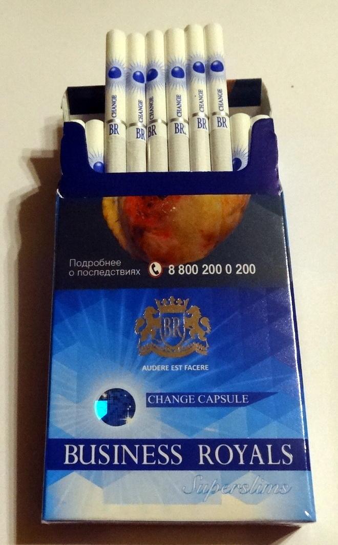 business royals сигареты с кнопкой купить