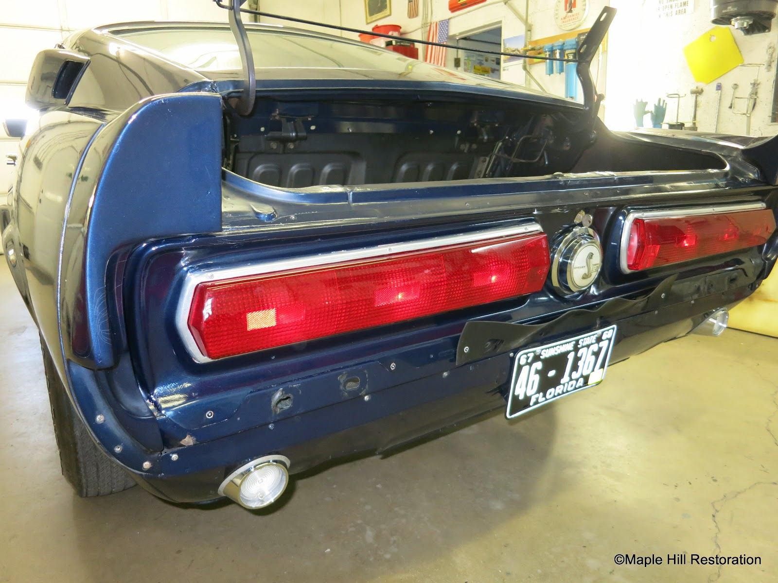 The 67 Shelby Mustangs received modifications to the rear tail light panel to fit the long style Thunderbird tail lights. The modifications made by Shelby ... & Virginia Classic Mustang Blog: Just the Details...1967 Shelby ... azcodes.com